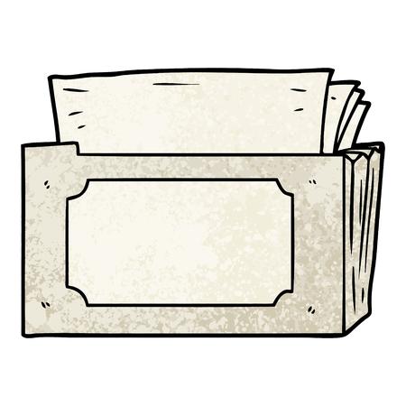cartoon folder of files