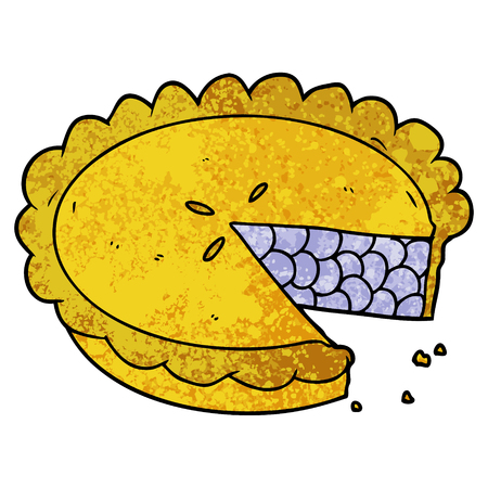 blueberry pie cartoon