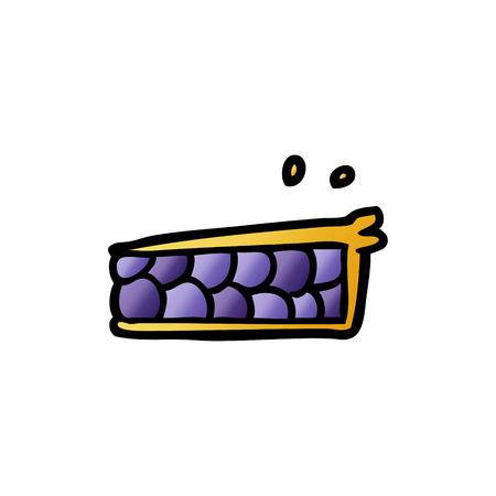 Cartoon Kuchen Standard-Bild - 96556532