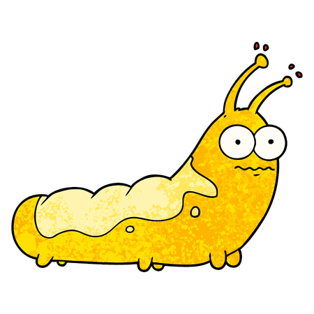 funny cartoon caterpillar