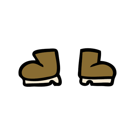 cartoon boots