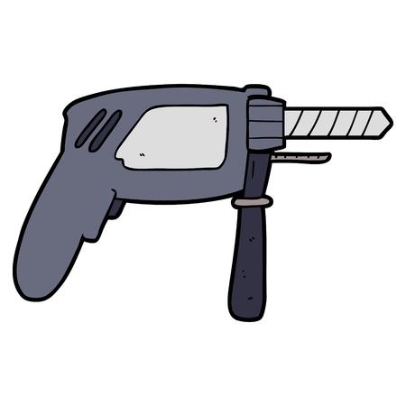 cartoon drill illustration