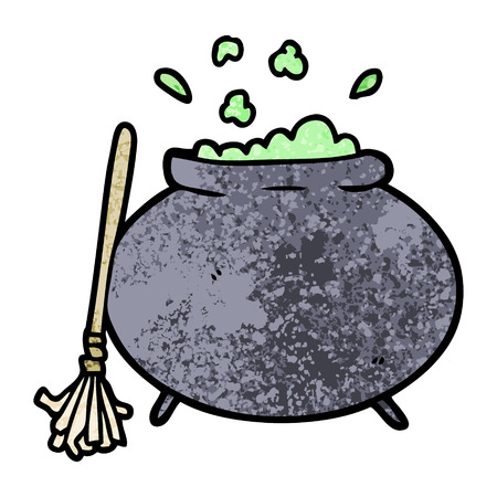 cartoon cauldron