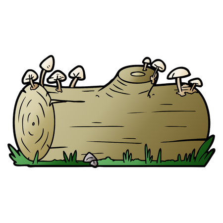 cartoon log Çizim