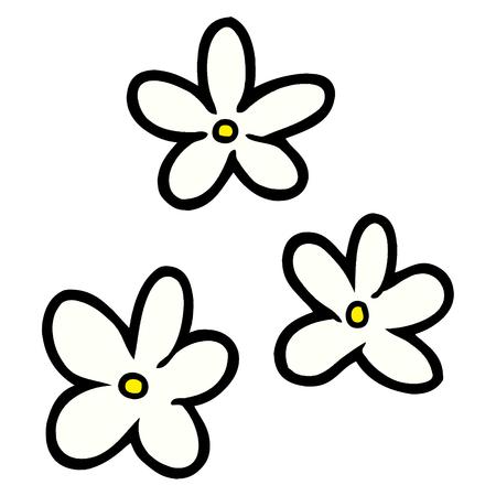cartoon basic flowers