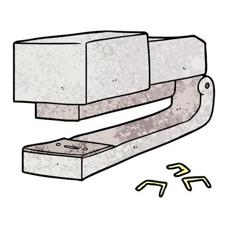 Cartoon office stapler 写真素材 - 96612542