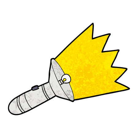 Old cartoon torch Stockfoto - 96613030
