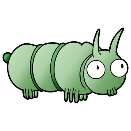 cute cartoon bug Vector illustration.