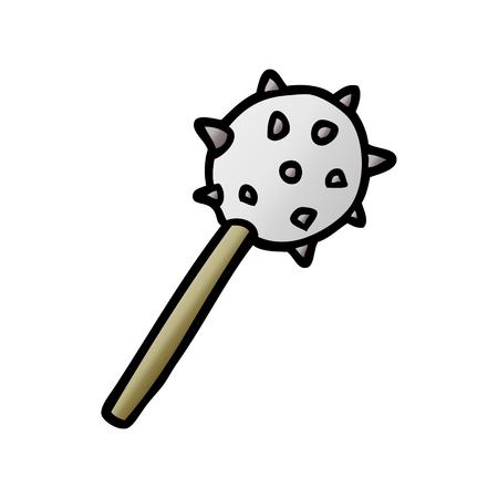 cartoon medieval mace