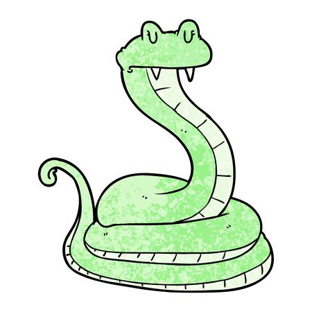 cartoon snake Stock Illustratie