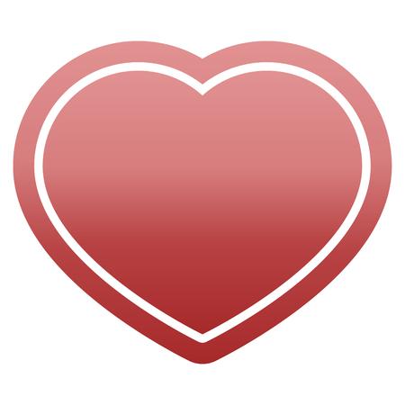 heart symbol graphic vector illustration icon