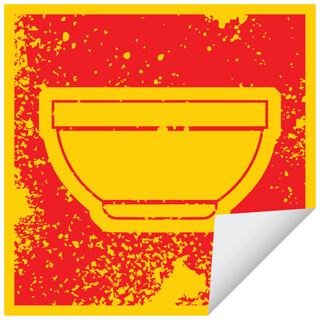 vector icon illustration of a bowl