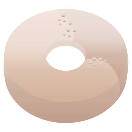 donut graphic vector illustration icon Stock Vector - 110205251