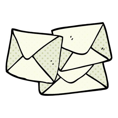cartoon doodle letter Foto de archivo - 110509323