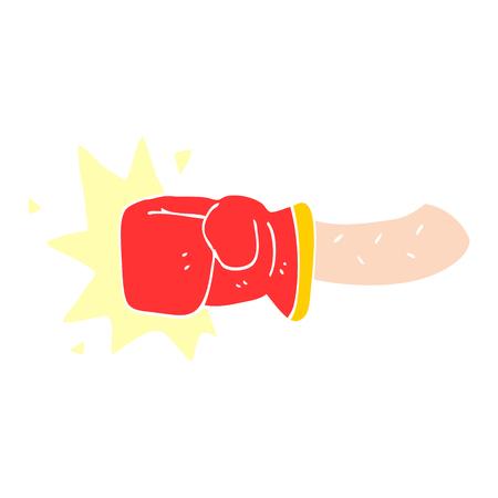 cartoon doodle punch Banque d'images - 110468741