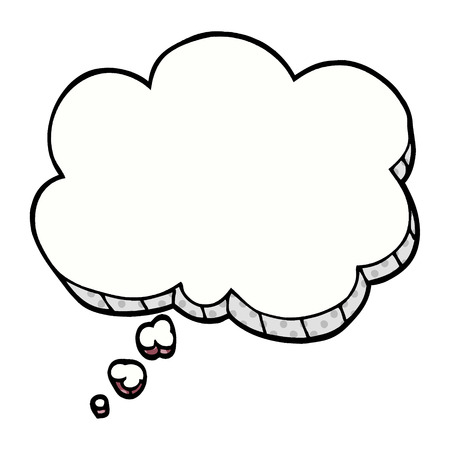 bulle d'expression de dessin animé doodle