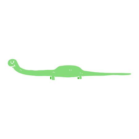 cartoon doodle prehistoric dinosaur Çizim
