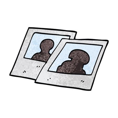 dessin animé doodle photographie instantanée