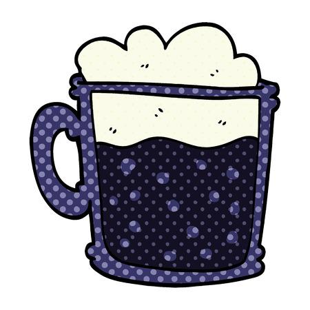 cartoon doodle cup of blackberry 写真素材 - 110713222