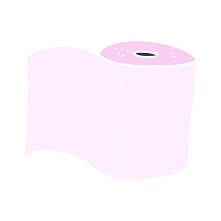 cartoon doodle toilet roll Stock Vector - 110714114