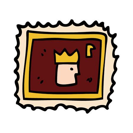 carton stamp 스톡 콘텐츠 - 110714674