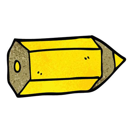 cartoon doodle colored pencil Stockfoto - 110714799