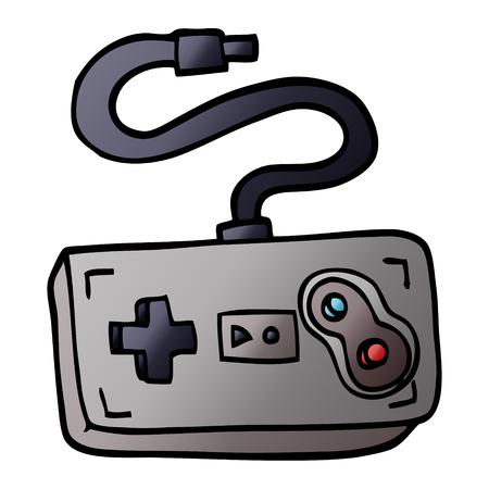 cartoon doodle game controller