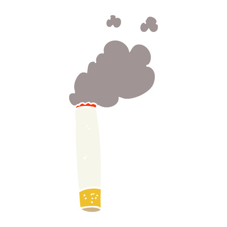cartoon doodle cigarette Standard-Bild - 110716431