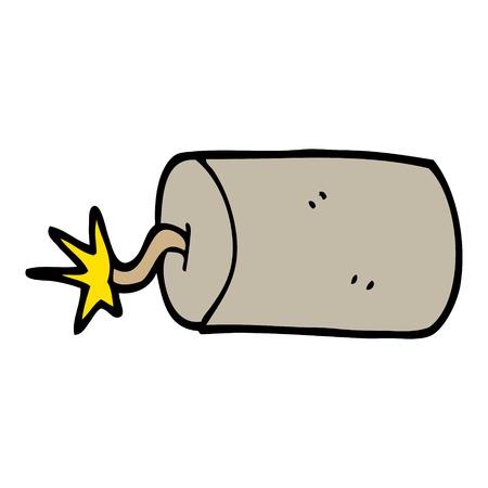 cartoon doodle dynamite 写真素材 - 110743643