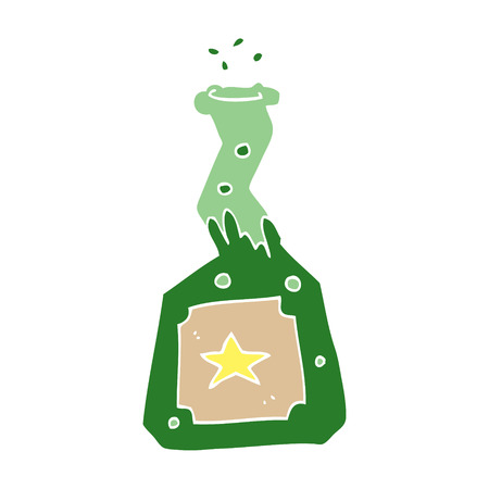 cartoon doodle experiment potions