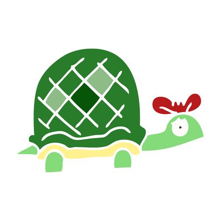 cartoon doodle funny tortoise