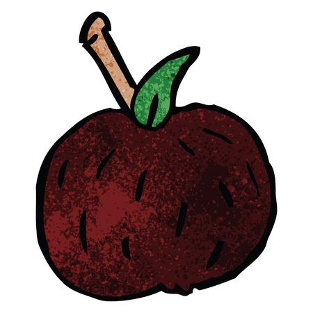 cartoon doodle tomato