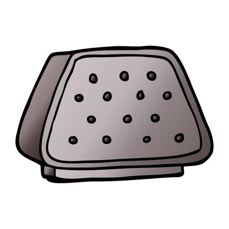 cartoon doodle desktop intercom Фото со стока - 110852969