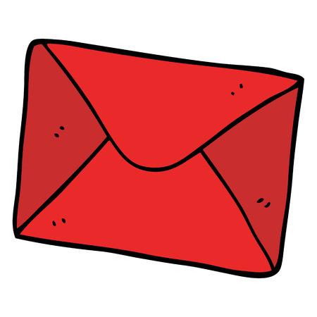 cartoon doodle letter Foto de archivo - 110853048