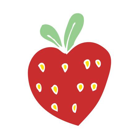cartoon doodle strawberry fr Stock Vector - 110790330