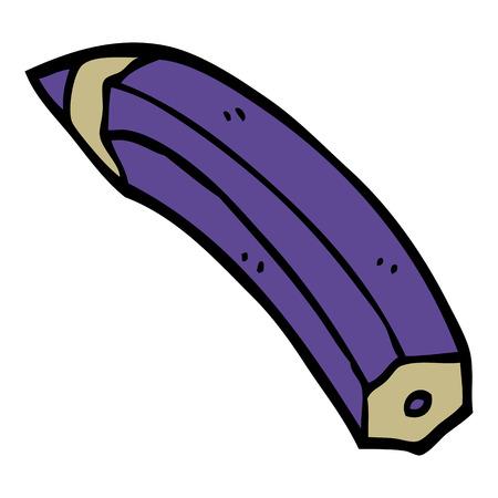 cartoon doodle colored pencil Stockfoto - 110853214