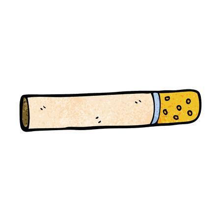 kreskówka doodle papieros