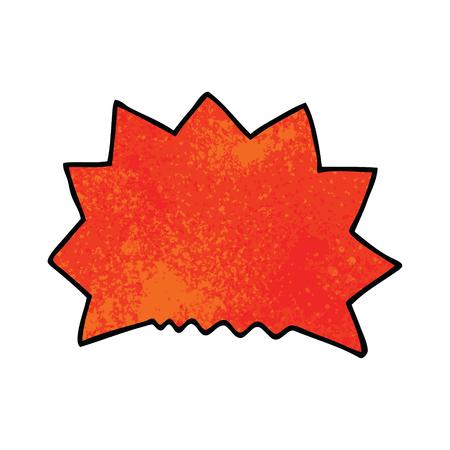 cartoon doodle big  bang explosion Stock Illustratie