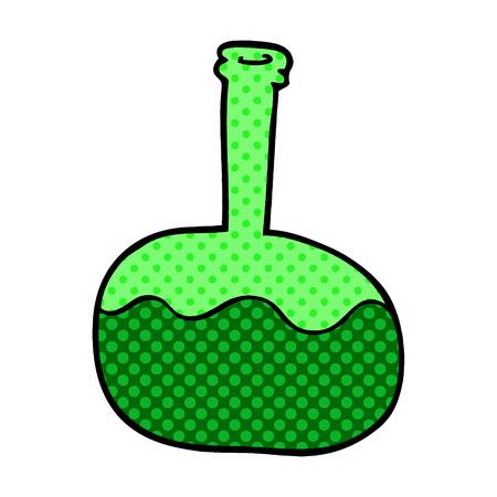 cartoon doodle experiment potions Иллюстрация