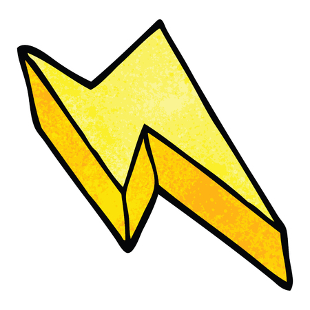 cartoon doodle decorative lightning bolt Reklamní fotografie - 110854338