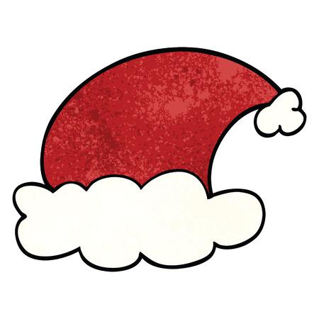 cartoon doodle christmas hats