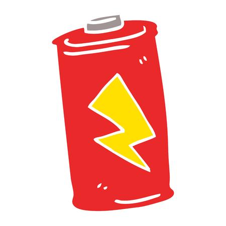 cartoon doodle battery Banque d'images - 110894477