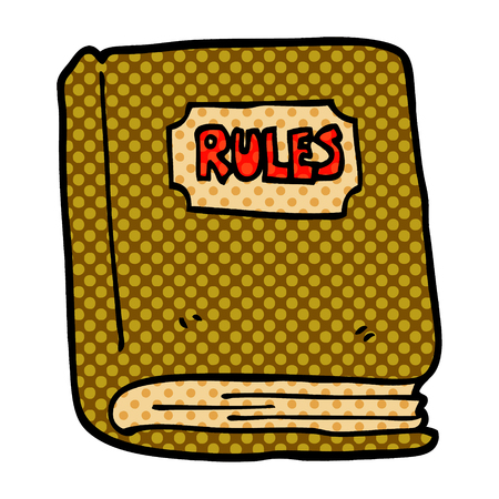 cartoon doodle rule book