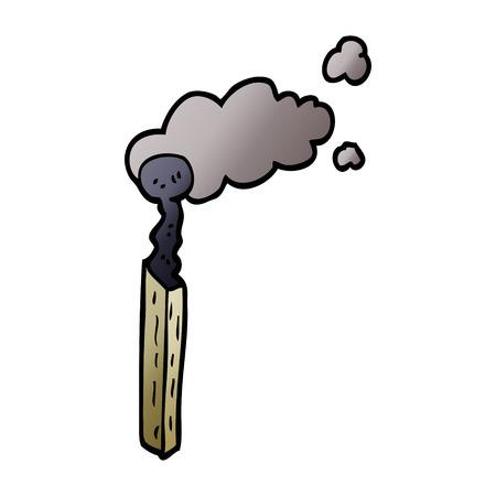 cartoon doodle match Ilustração