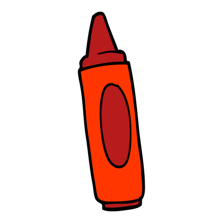 cartoon doodle coloring crayon