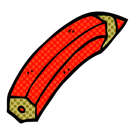 cartoon doodle colored pencil Stockfoto - 110895336