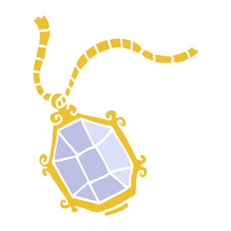 kreskówka doodle droga biżuteria