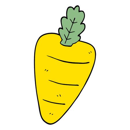 cartoon doodle carrot
