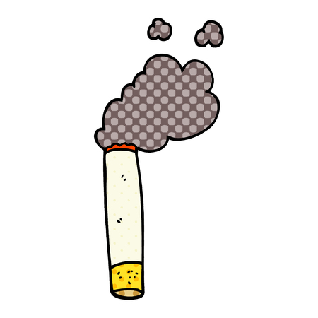 cartoon doodle cigarette Archivio Fotografico - 110907264