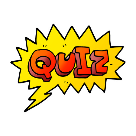 cartoon doodle font quiz